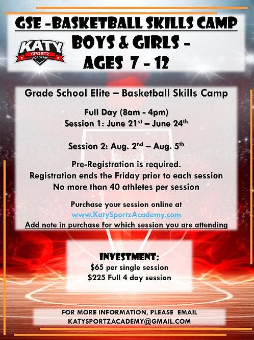 Grade School Elite - Basketball Camp