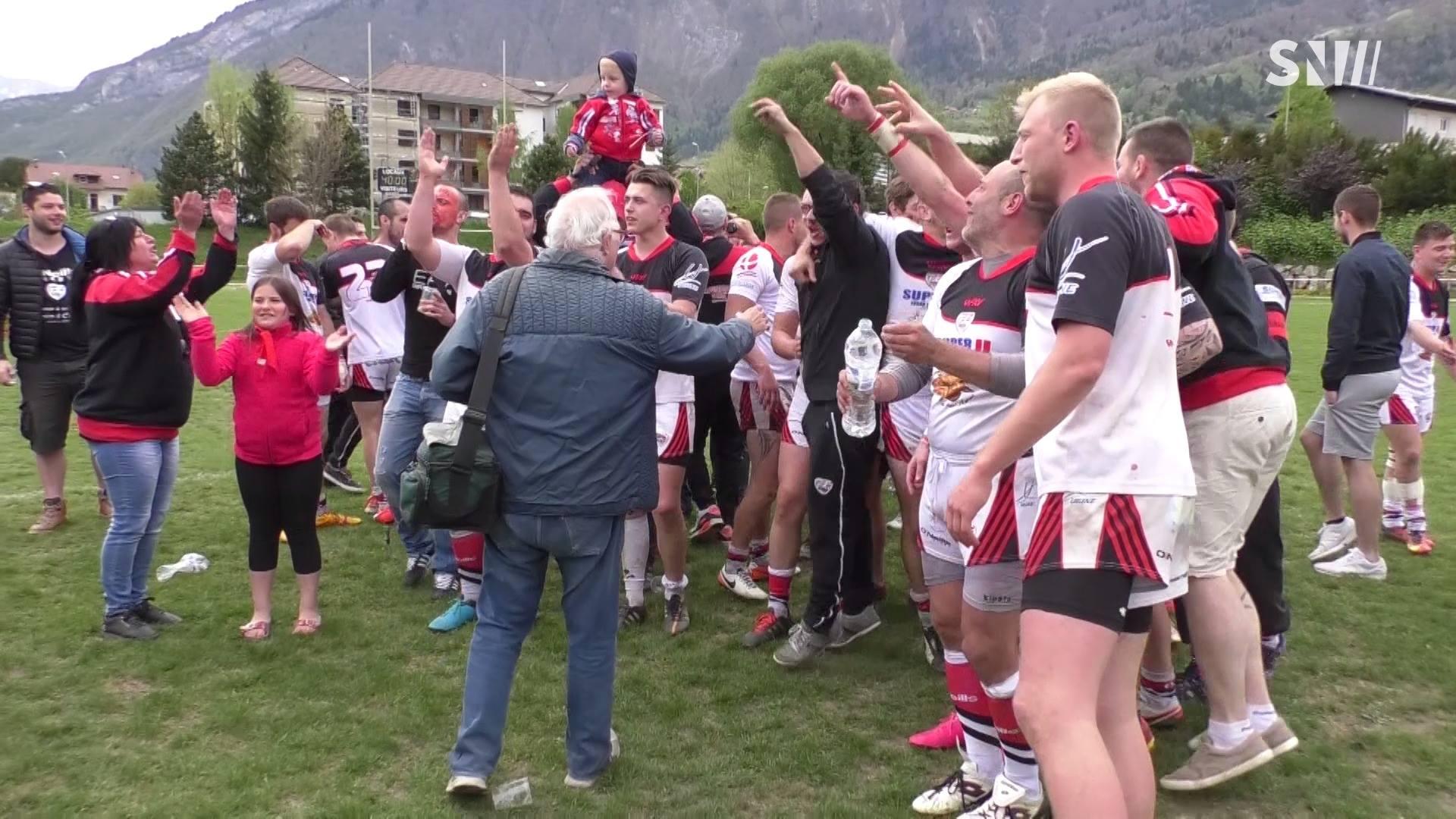 Rugby : Le SOUA en finale de sa division !