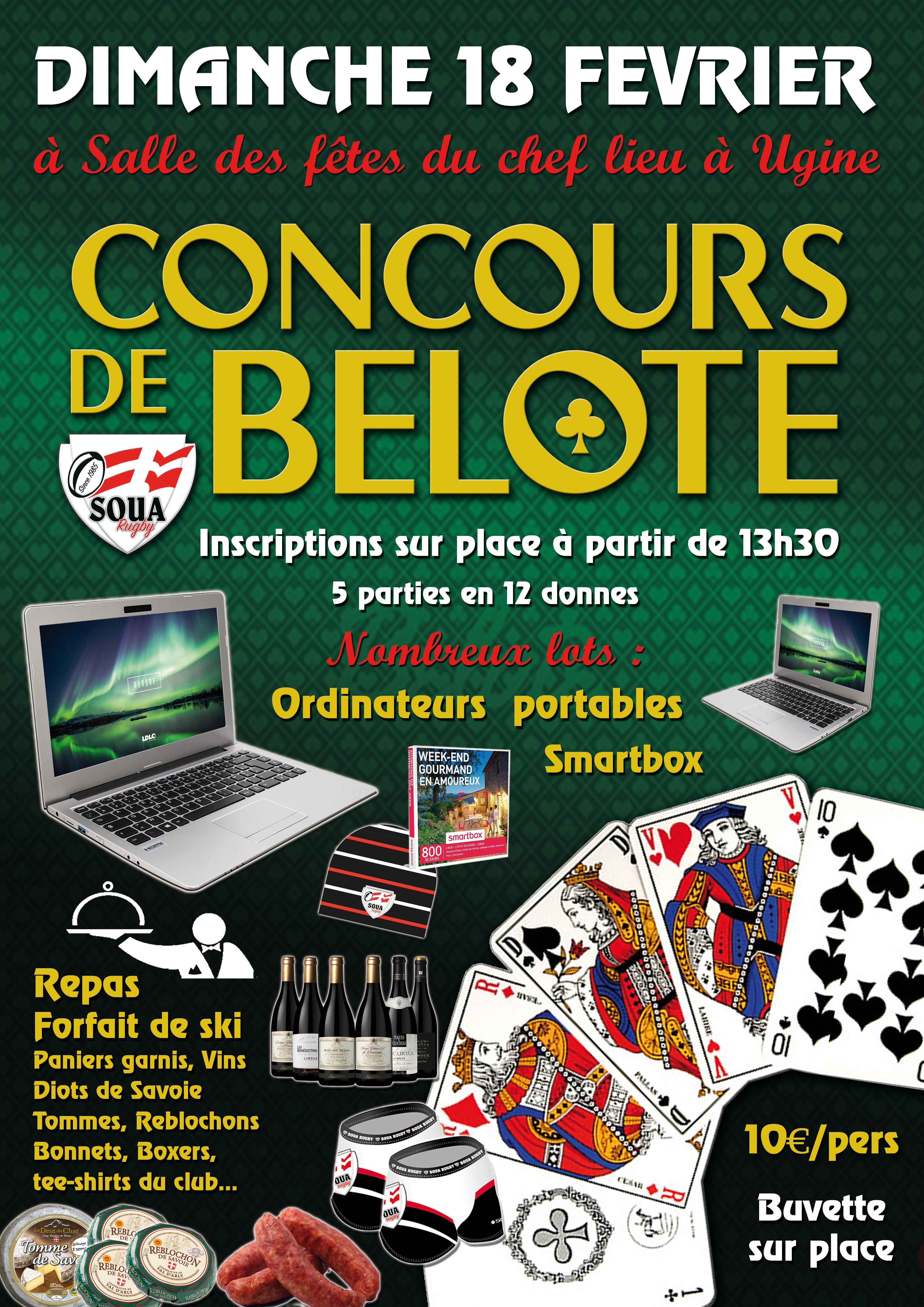 concours belote copie