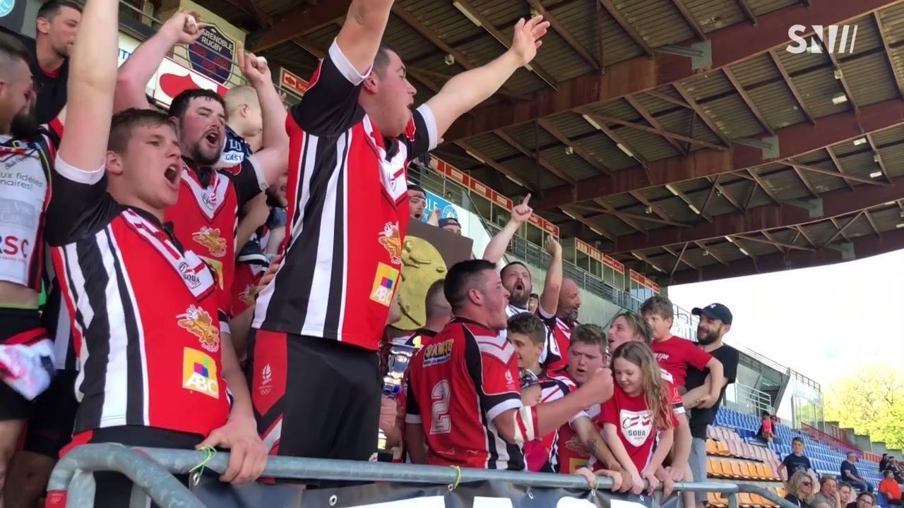 Rugby : SOUA, Champion des Alpes - réserve d'honneur