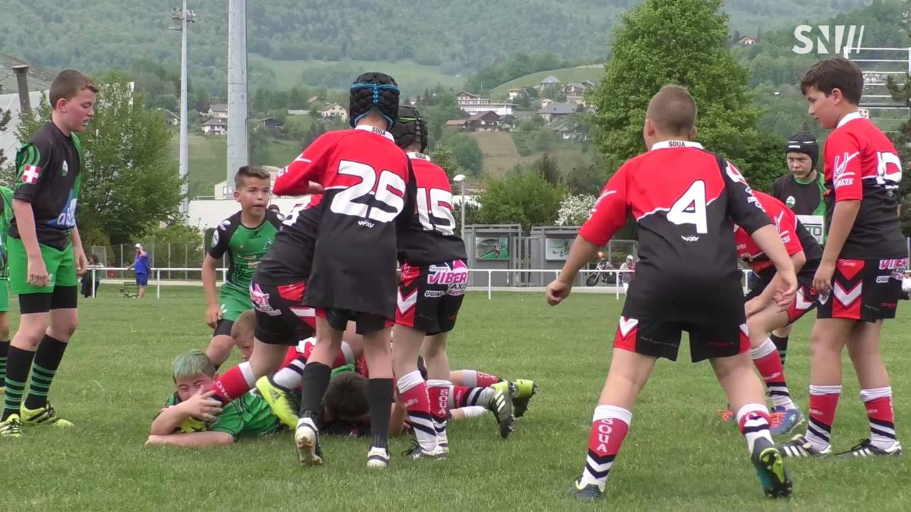 Albertville - Rugby : Tournoi international de la Petite Flamme U6 - U8 - U10 - U12