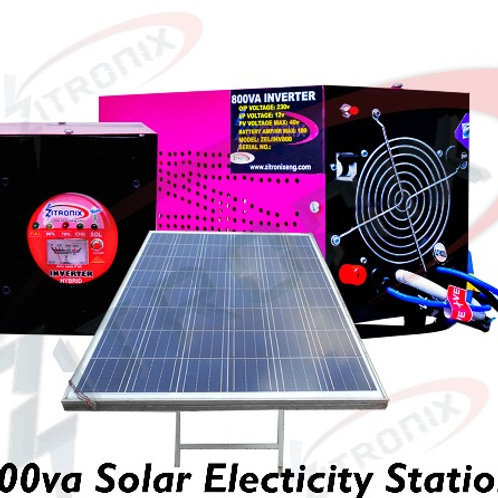 "800VA Solar Station ""I Smart Pass"""