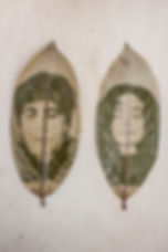 Verena Stenke, Andrea Pagnes, VestAndPage, Chlorophyll portrait, leave, Fenia Kotsopoulou, Scents of Evanescence