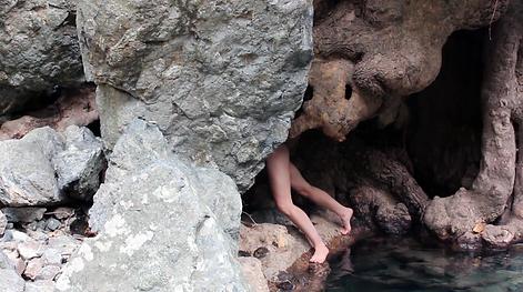 VestAndPage, Verena Stenke, Performance Art, Film, Strata, Deep time, Geology, Body, Research