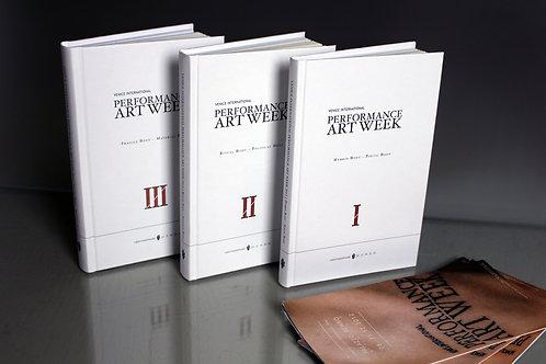 """""""Venice Performance Art Week"""" (3 catalogues+flyers)"""