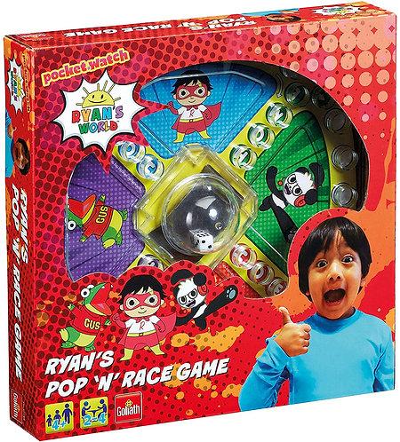 Ryan's World Pop n Race Board Game