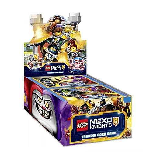 Lego Nexo Knights TCG Booster (15 cards) 3 packets.