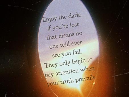 Enjoy the dark