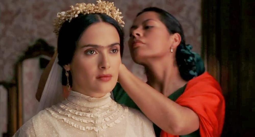 Escena del filme de Frida Kahlo.