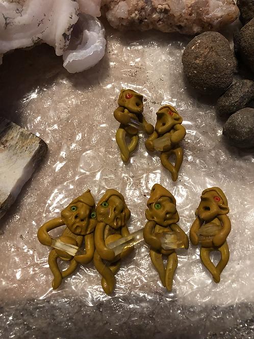 Treasure Trolls / Natural Citrine