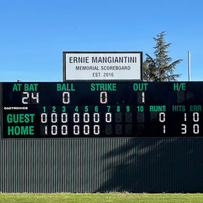 10-Inning Electronic Scoreboard - Completed