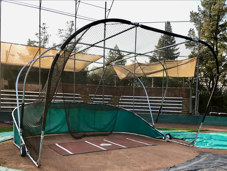Completed: New Portable Batting Cage