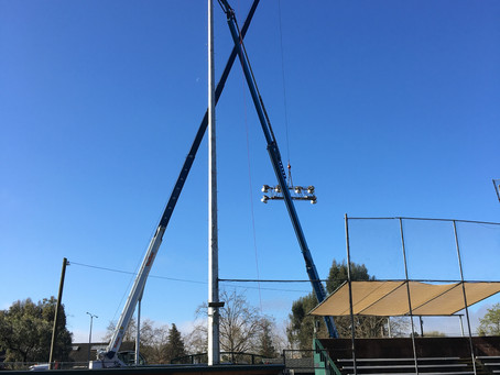 Completed: Upgrade Stadium Lights - Phase 1