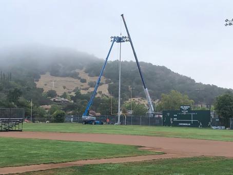 Completed: Upgrade Stadium Lights - Phase 2
