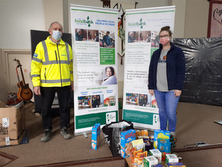 Local Food Bank Donation