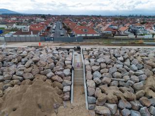 New Beach Access Stairwells
