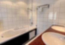 Bathroom - Double Room Central Hotel Verbier
