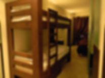 Standard Quad Bunk Beds - Central Hotel Verbier