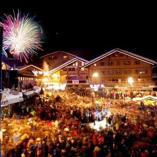 Verbier New Year Place Centrale