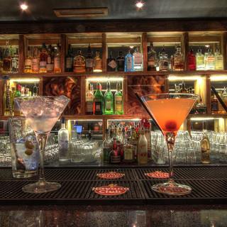 Cocktails at TBar Verbier