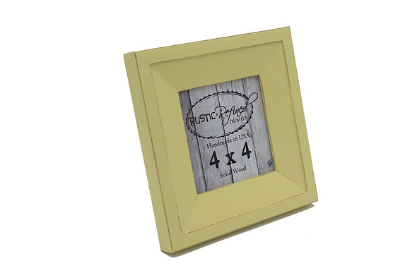 4x4 Haven picture frame - Daffodil