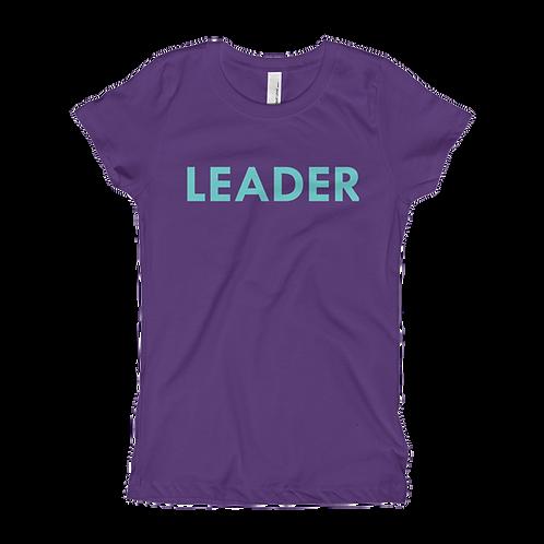 LEADER (Turquoise) Girl T-shirt