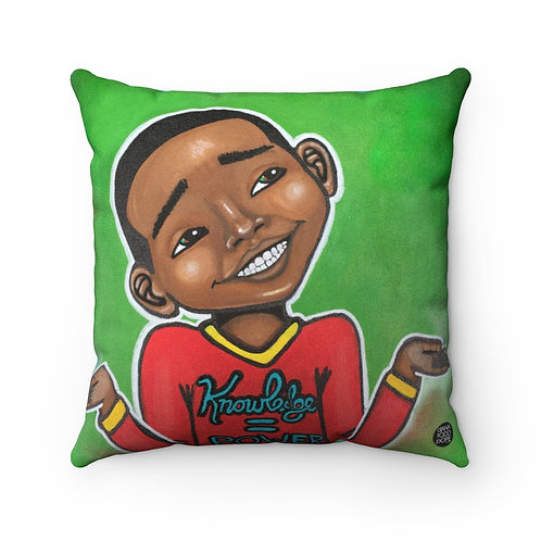 Four Kings III Square Pillow