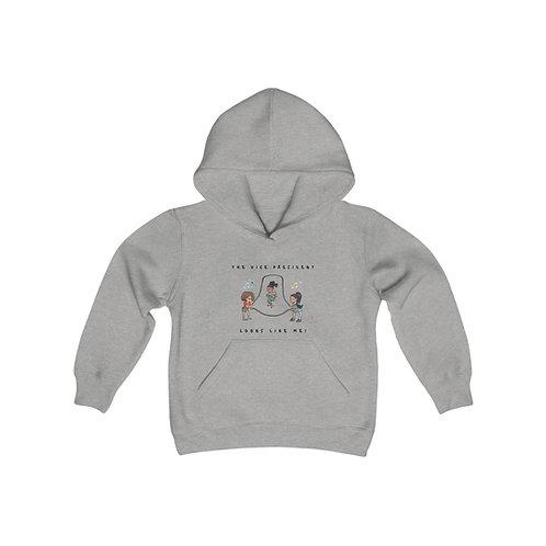 Vice President Youth Heavy Blend Hooded Sweatshirt Too!