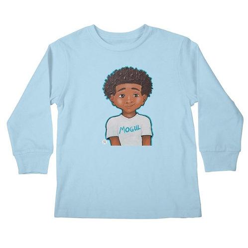 Mini Mogul Kid's Long Sleeve T-Shirt