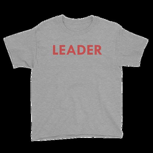 LEADER (Red) Boy T-shirt