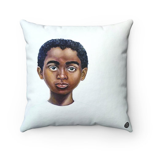 Because Being Black in a White Space is a Real Thing... V Premium Square Pillow