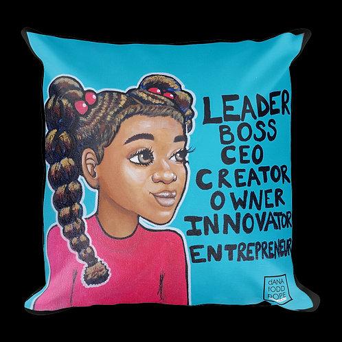 """""""L.B.C. Girl, I"""" Pillow"""