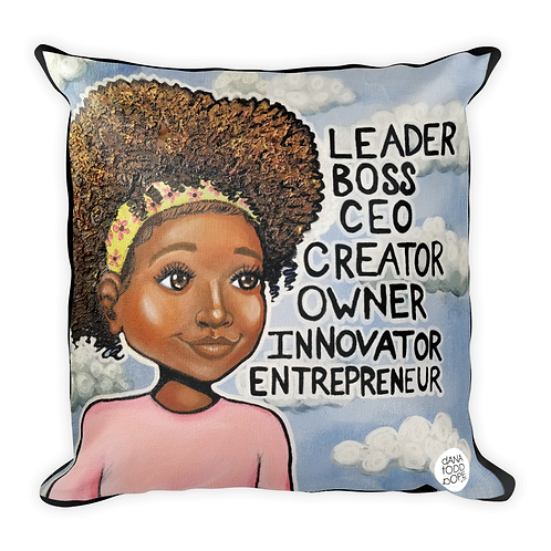 """L.B.C. Girl, II"" Pillow"