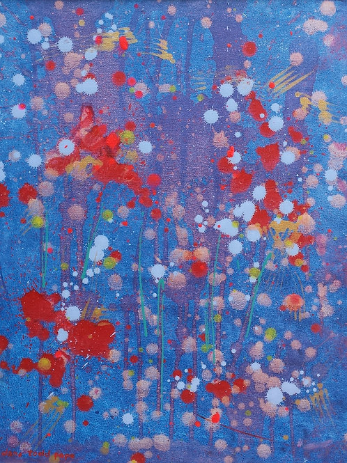 """Blue Meadow""- Original"