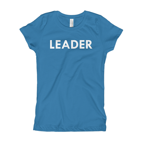 LEADER (White) Girl T-shirt