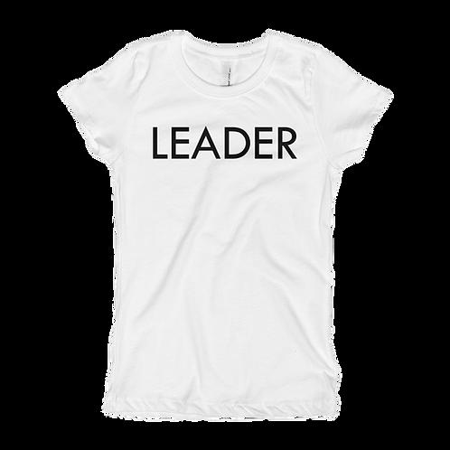 LEADER (Black) Girl T-shirt