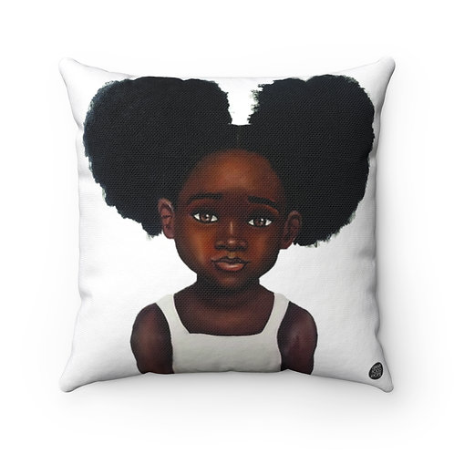 Because Being Black in a White Space is a Real Thing, III Premium Square Pillow
