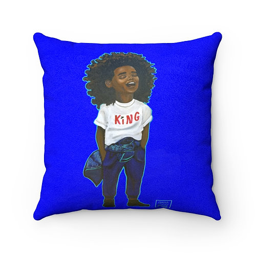Laughing Square Pillow
