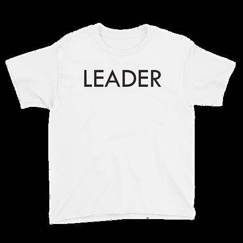 LEADER (Black) Boy T-shirt