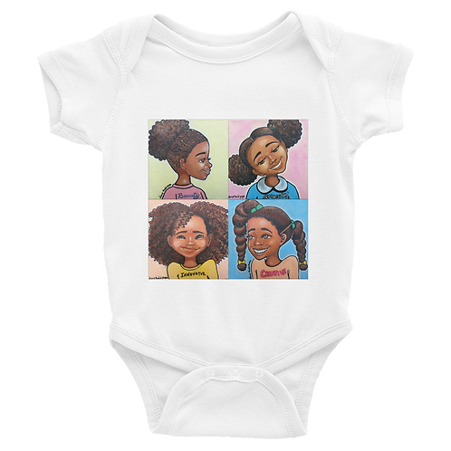 """BSIC"" Infant Baby Rib Short Sleeve Onesie"