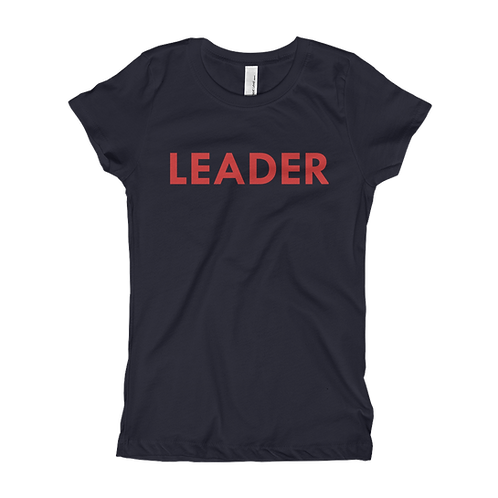 LEADER (Red) Girl T-shirt
