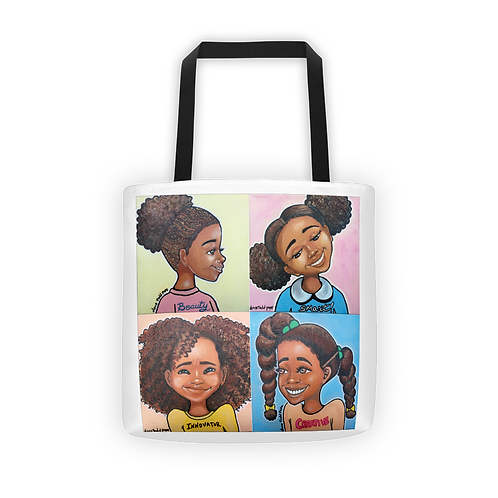 """I am.... Beautiful, Smart, Innovative, Creative"" Tote"
