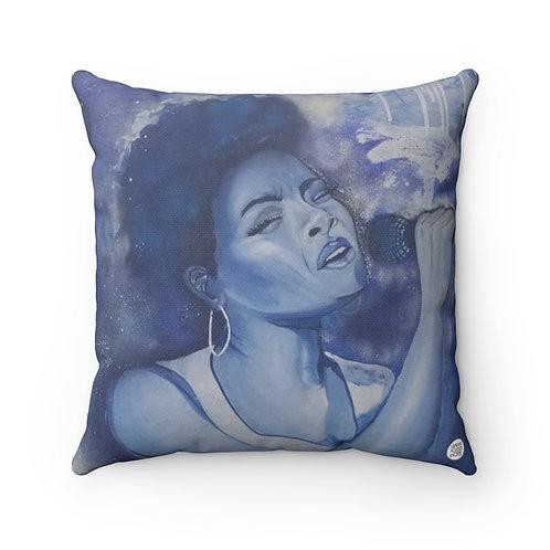The Jazz Singer Premium Square Pillow