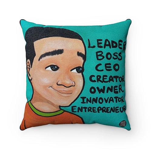 L.B.C., I Square Pillow