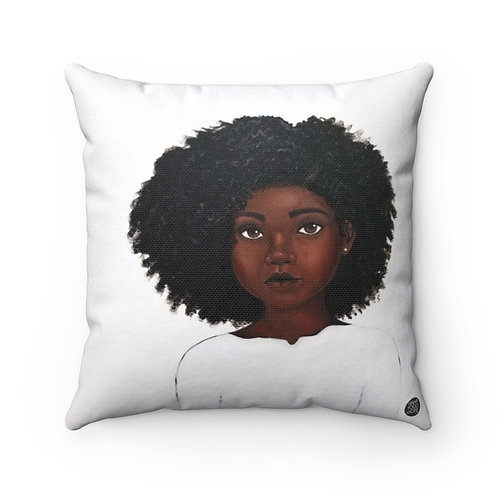 Because Being Black in a White Space is a Real Thing... I Premium Square Pillow
