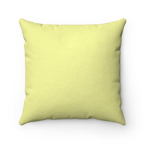 L.B.C. II (Boy) Square Pillow