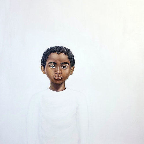 """""""Because Being Black in a White Space is a Real Thing, 5"""" Print on Paper"""