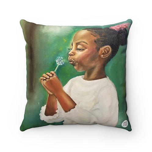 Wish Premium Square Pillow
