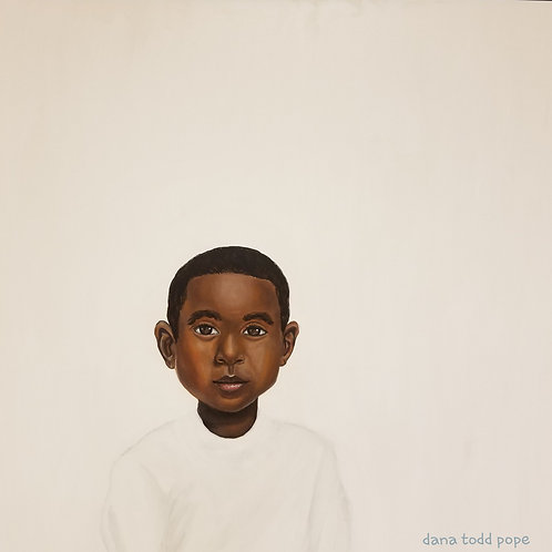 """""""Because Being Black in a White Space is a Real Thing, 2"""" Print on Paper"""
