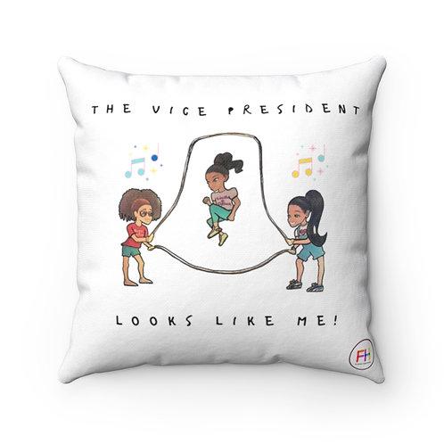 Vice President 18x18 Spun Polyester Square Pillow